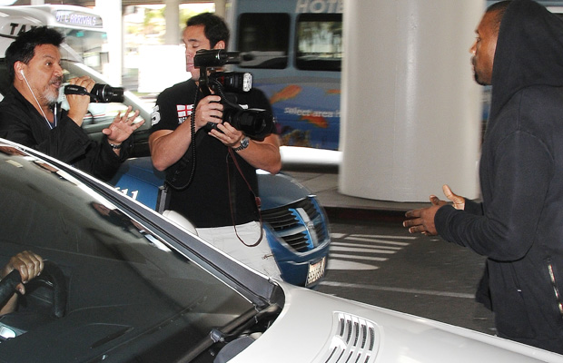 "Kanye West Sends A Paparazzo To The Hospital: ""I Told You Don't Talk To Me, Right?"""