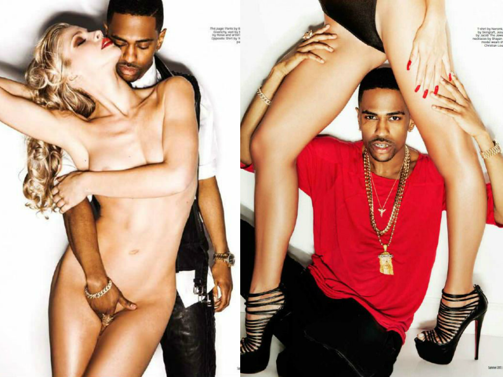 Big Sean Stirs Up Sex Tease For Fault Magazine