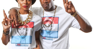 Celebrities Support The For Trayvon Martin Campaign: Meagan Good, Karen Civil, Dawn Richard And Couple Eva Marcille + Kevin McCall