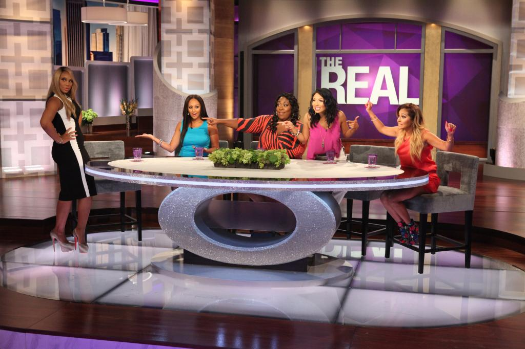 "Sneak Peek: It Gets Real On ""The Real"" Talk Show"