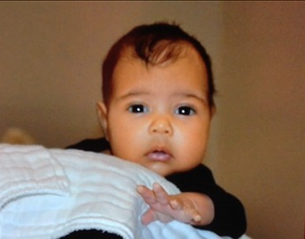 Watch: Kanye Reveals First Photo Of North West On Kris Jenner's Talk Show