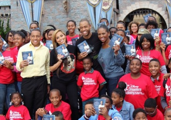 Terrence J Celebrates Book Release With 100 Single Mothers At Disneyland