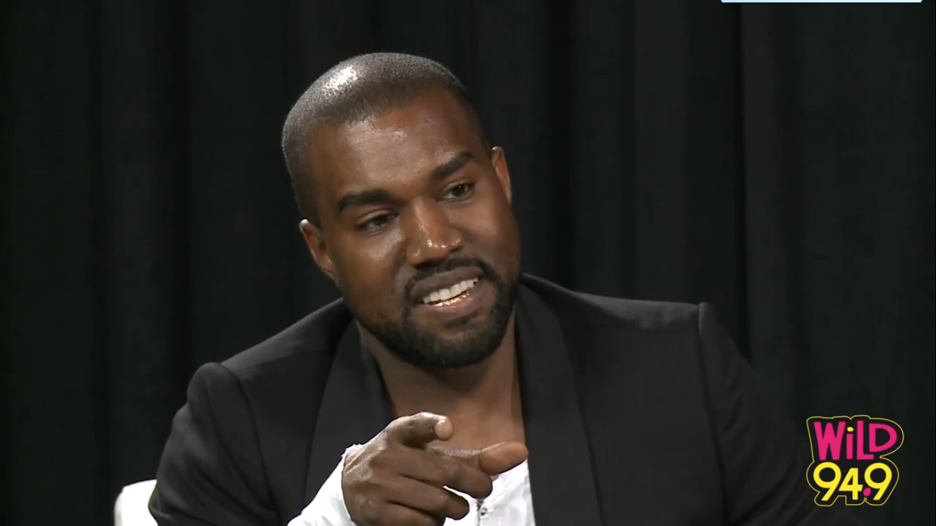 "Kanye West Explains Bringing Jesus On Stage, Illuminati And Why He Uses His ""White Voice"""