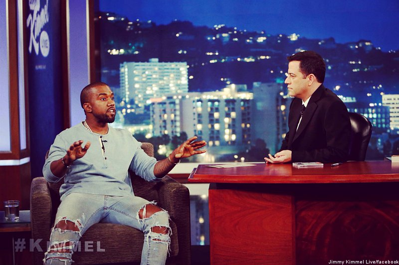 Kanye West And Jimmy Kimmel Settle Their Beef On Jimmy Kimmel Live