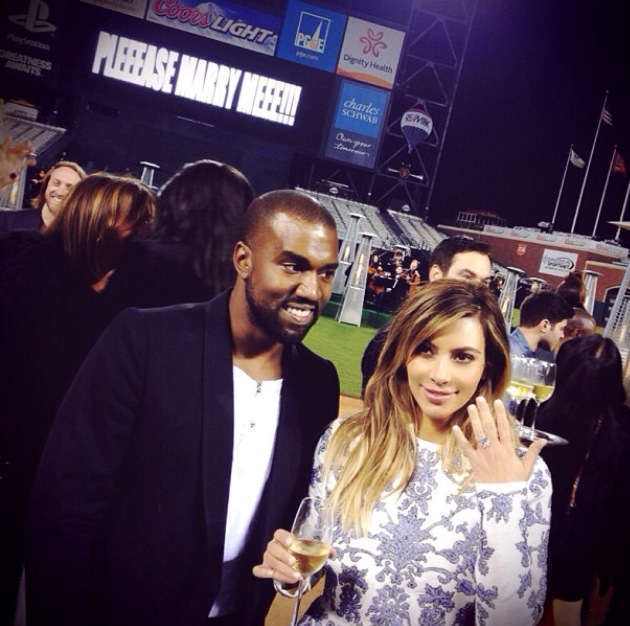 Watch Video Of Kanye's Proposal To Kim Kardashian