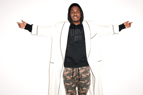 Kendrick Lamar Gets Flicked Up By Terry Richardson