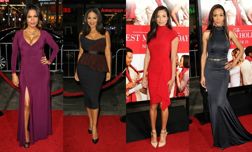"Celebs Stun On The Red Carpet At ""The Best Man Holiday"" Premiere"