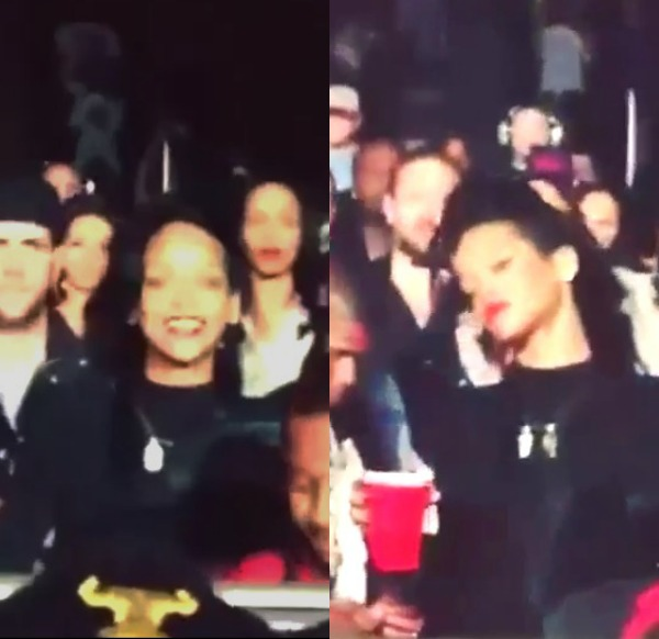 Again?! Rihanna Returns The Love And Shows Up At Drake's Concert In Houston
