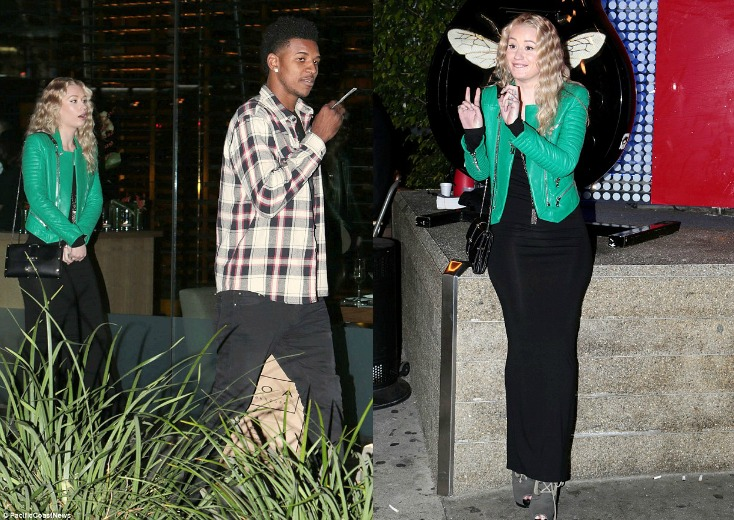 Iggy Azalea And NBA Baller Nick Young Spotted In L.A. On Another Date