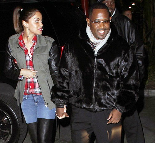 Watch Footage: Martin Lawrence Takes New Girlfriend To Jay-Z's Concert