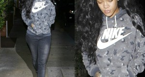 Rihanna Ditches Doobbie And Heels For Long Hair And Sneakers