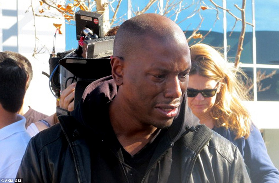 Tyrese Gibson Breaks Down At Paul Walker's Crash Site
