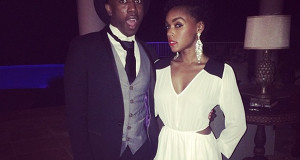 Birthday Behavior: Janelle Monae Breaks Up With Tuxedo For Sexy White Dress