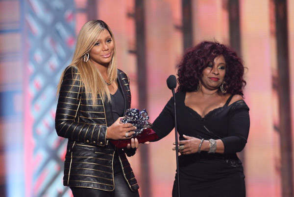 Monday Morning Frappuchino: Tamar Braxton Gets Emotional During Inspirational Speech At The Soul Train Awards