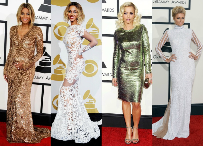 2014 Grammy Award Red Carpet Arrivals: Beyonce, Ciara, Rita Ora, Paris Hilton And More