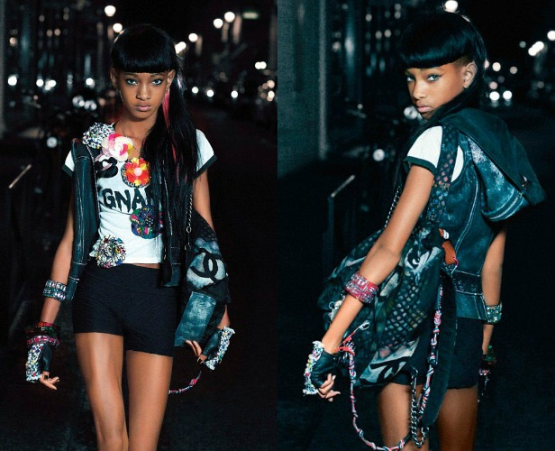 "Willow Smith Serves Maturity In V Magazine + Debuts New Video ""5″ ft. Jaden Smith"