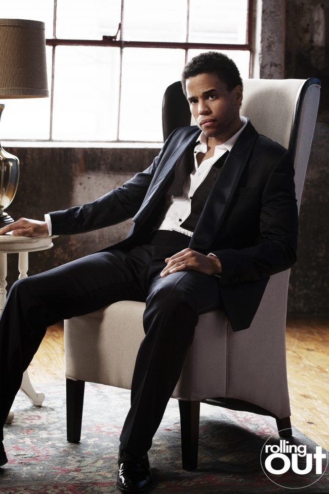 Michael Ealy Talks Marriage, New Movie Role, And Offers Relationship Advice In Rolling Out