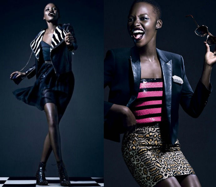 Slayage! Lupita Nyong'o Slays For Vogue Italia