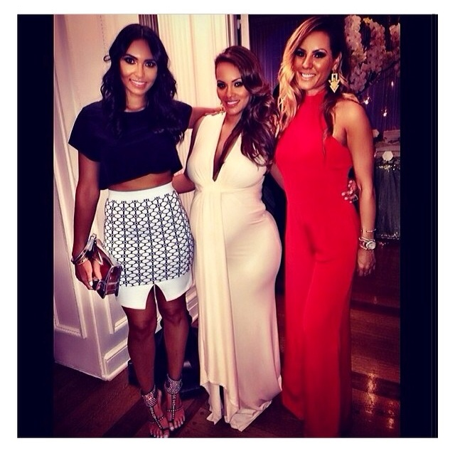 Evelyn Lozada Hosts Diamonds And Diaper Themed Baby Shower I Hate
