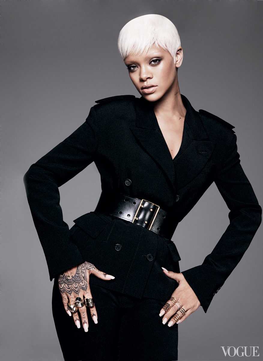 Rihanna Slays Cover Of Vogue And Reveals Fashion Secrets