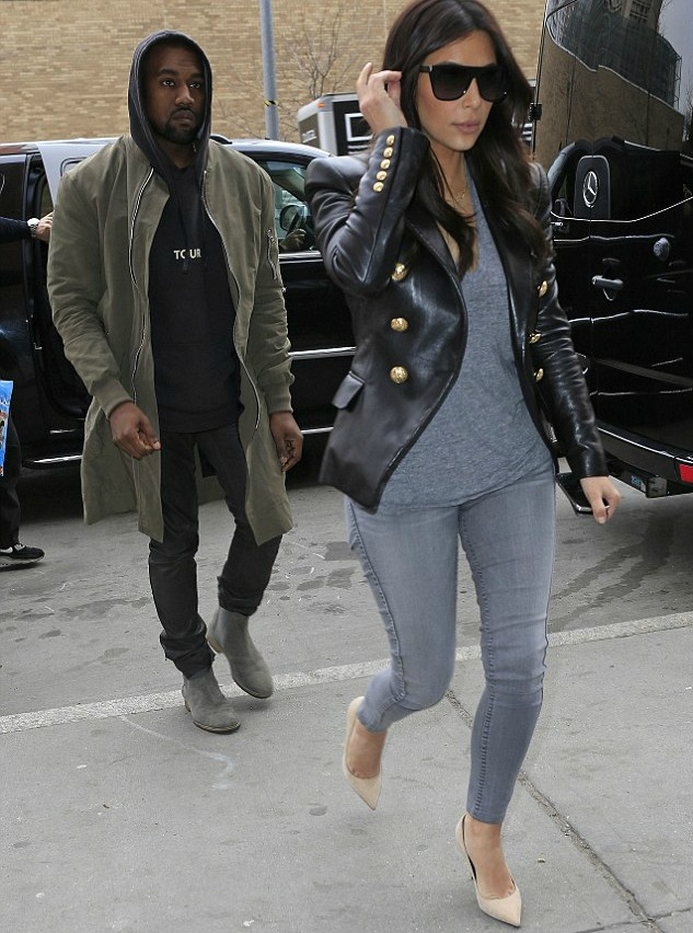 Ya'll Cute! Kim Kardashian And Kanye West Takes LAX Airport In Style