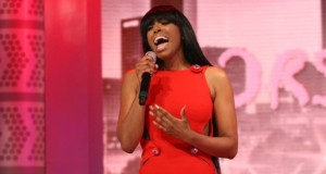 """Watch: Porsha Williams Performs """"Flatline"""" On 106 & Park For The First Time And Throws Shade At Kenya Moore"""