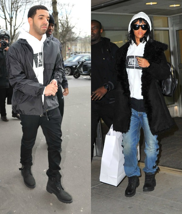 Sources Confirm That Drake And Rihanna Are Official! Rihanna Spotted Wearing Drake's Clothes After Leaving Men's Bathroom Together