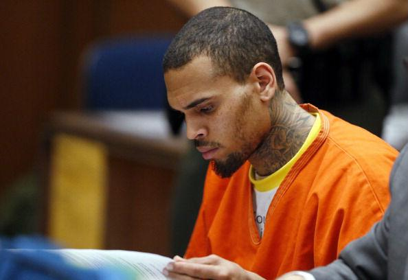 Chris Brown Sentenced To One Month In Prison: Mom Breaks Down In Courtroom