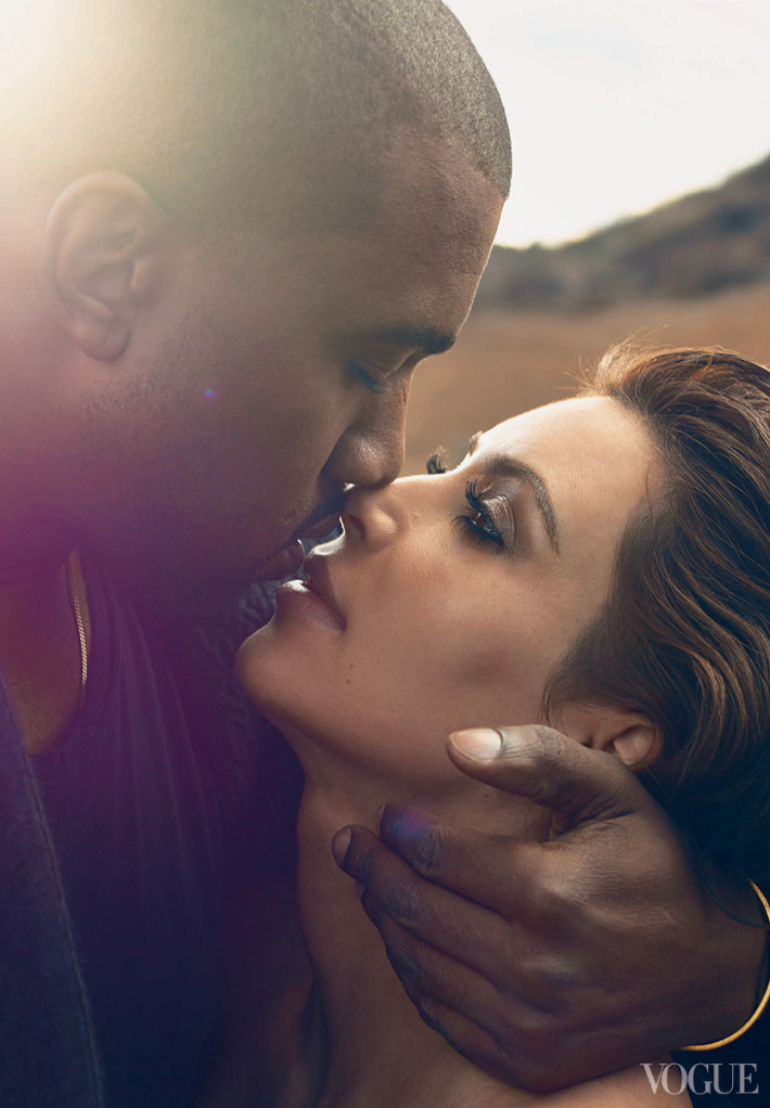 Did Kanye Beg Or Pay For Wedding Feature? Anna Wintour Defends Kimye's Vogue Cover