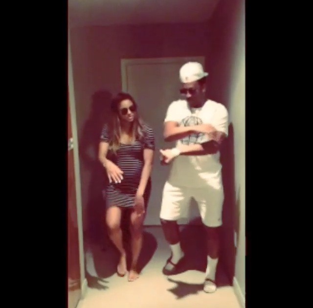 Hilarious! Ciara And Belly Bump Performs Future Song With Her Dad