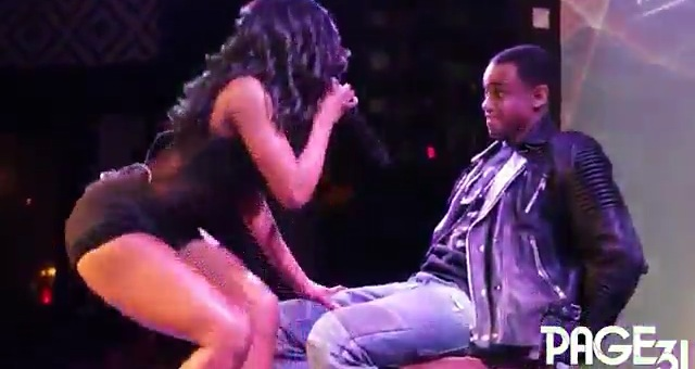Sevyn Streeter Grains On Mack Wild's Wood While Giving Him A Lap Dance