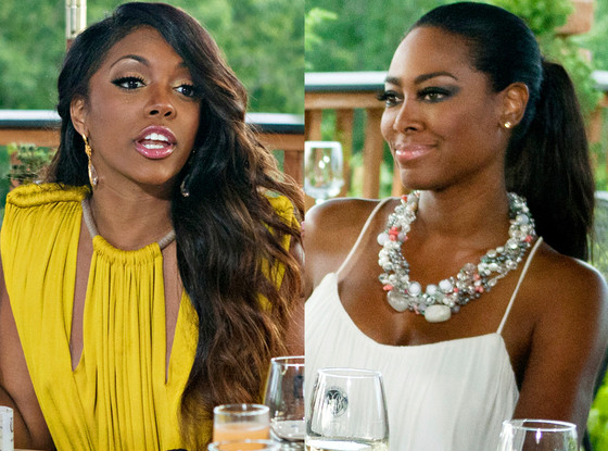 "Kenya Moore Calls 9-1-1 After Porsha Fight: ""She Hit Me In My Head"""