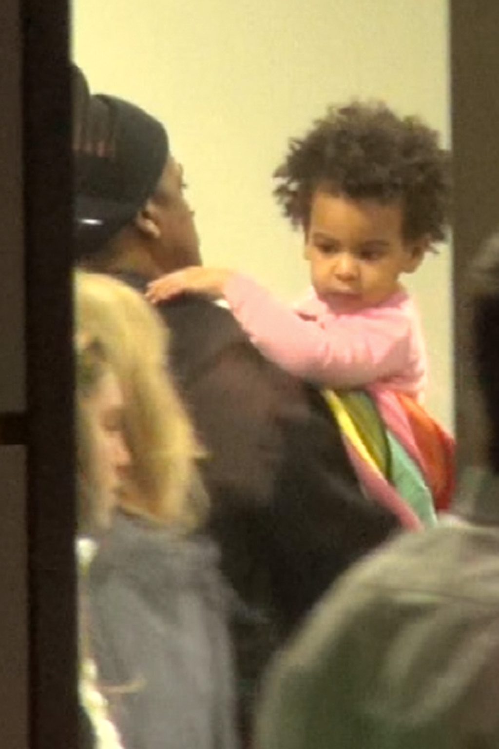 Beyonce At Cologne Bonn Airport