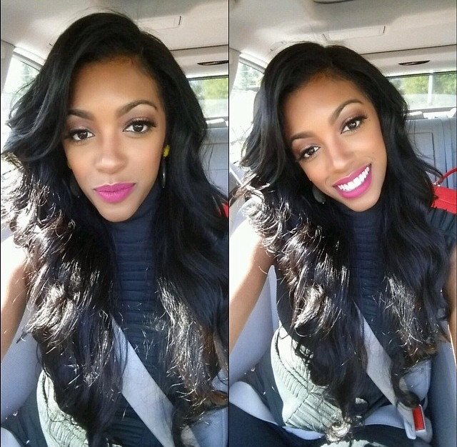 Porsha Williams Takes Glamorous Selfie Before Turning Herself In On Battery And Assault Charges