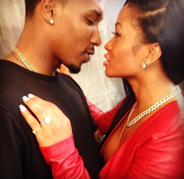 Ooops! Shateria Moragne Confirms Lashontae Heckard And Brandon Jennings' Engagement