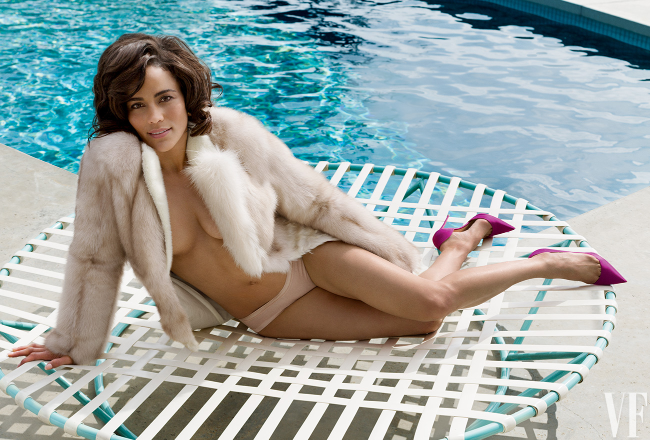 "Paula Patton Gets Sexy For Vanity Fair: Talks Robin Thicke ""All I Can Tell You Is That There Is Deep Love There…Always Will Be"""