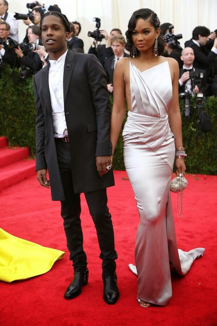 Met-Gala-2014-Asap-Rocky-And-Chanel-Iman-1