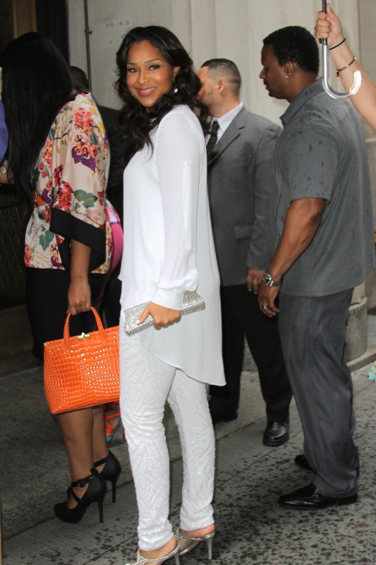 Lisa Ray arrives to Lil Kims Baby Shower at Broad St Ballroom