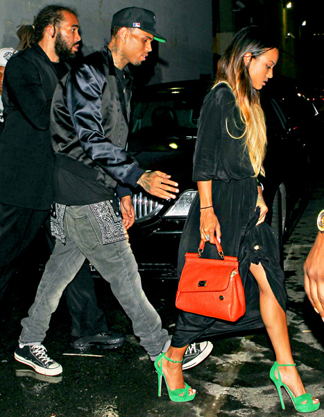 Chris Brown Released From Jail And Welcomed Home By Karrueche