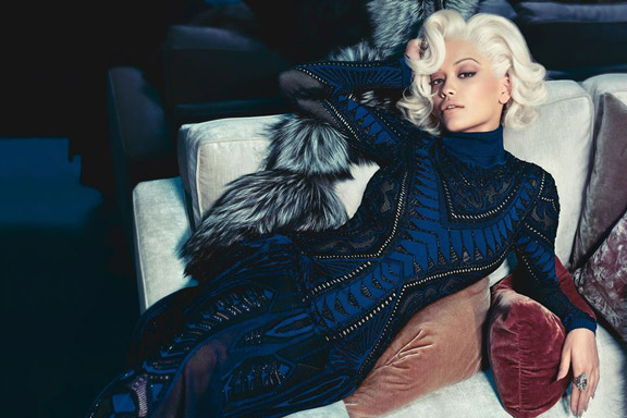 Rita Ora Stuns As The New Face Of Roberto Cavalli