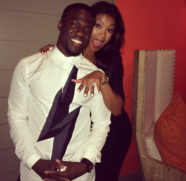 She Said Yes! Kevin Hart Gets Engaged To Longtime Girlfriend Eniko Parrish
