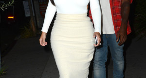Coupled Up: Kanye West And Kim Kardashian Have Dinner In LA + Erica Mena And Bow Wow At Supperclub