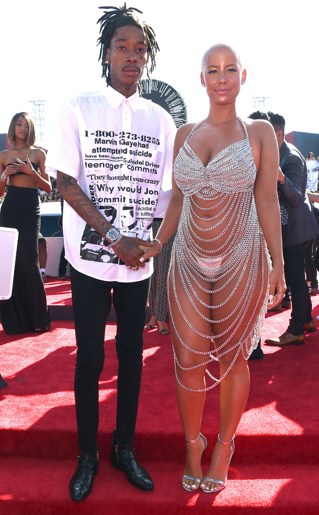 Amber Rose Files Divorce From Wiz Khalifa: Did Nick Cannon Break Them Up?