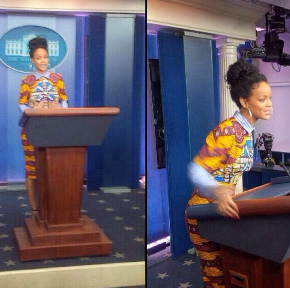 Rihanna-White-House
