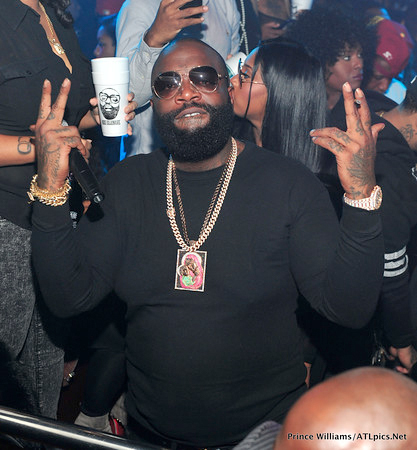 Rick Ross And Rumored New Girlfriend Ming Lee Hits Atlanta's Club Compound Together