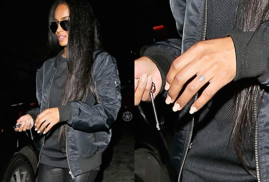 It's Official! Ciara Removes Future Tattoo From Her Finger