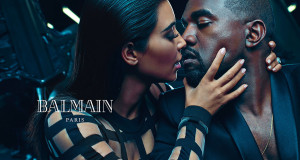 Power Couple Kim Kardashian And Kanye West Are The New Face Of Balmain