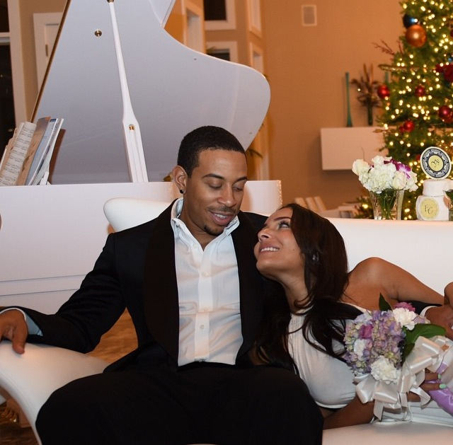 Why Wait? Ludacris And Eudoxie Get Engaged And Married All In One Day