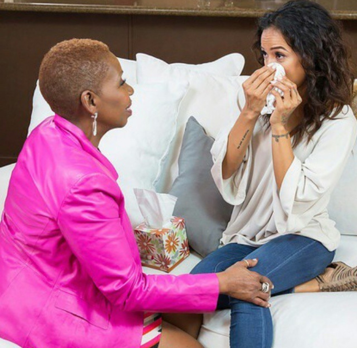 Iyanla Vanzant Gets Kicked Out Of Karrueche's House During Emotional Interview About Chris Brown