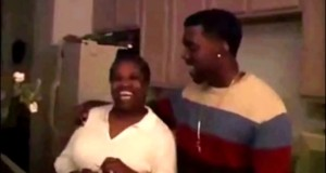 Extended Intimate Video Footage Of Kanye West And His Mother Rapping Together